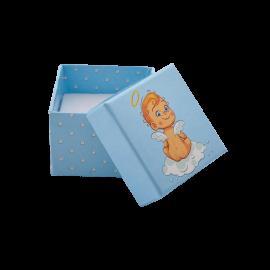 Футляр / упаковка ювелирных изделий детская Пупс Ангелочек для мальчика