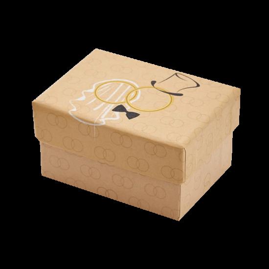 Футляр / упаковка ювелирных изделий Обручальные Кольца FK-018