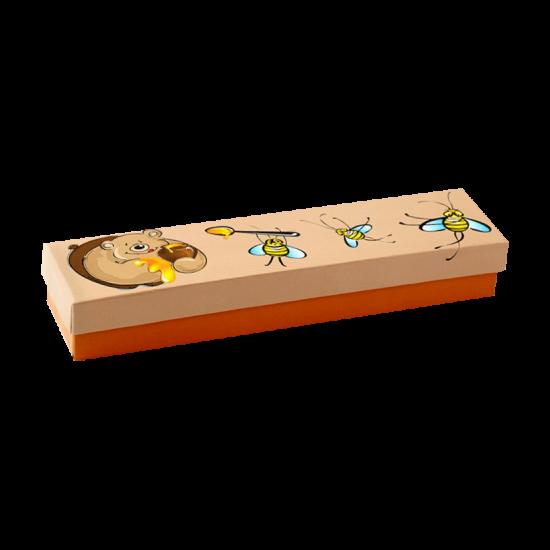 Футляр / упаковка ювелирных изделий Медвежонок с пчелами FK-028