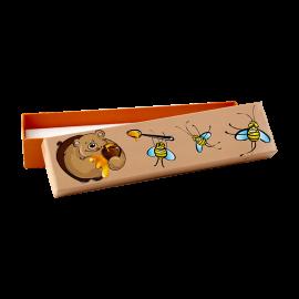 Футляр / упаковка ювелирных изделий Медвежонок с пчелами