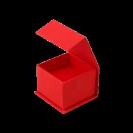 Футляр / упаковка ювелірних виробів романтична два Сердця з мігнітом