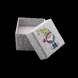 Футляр / упаковка ювелирных изделий детская Гном в желтом колпаке