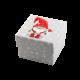 Футляр / упаковка ювелирных изделий детская Гном в красном колпаке FK-056