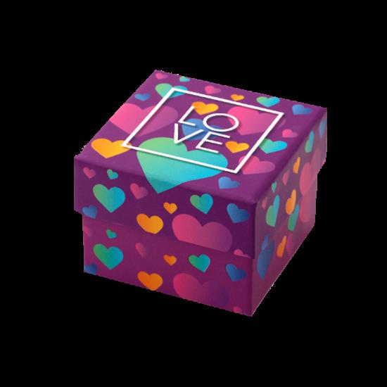 Футляр / упаковка ювелирных изделий романтическая LOVE FK-057