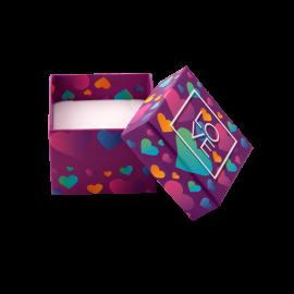 Футляр / упаковка ювелирных изделий романтическая LOVE