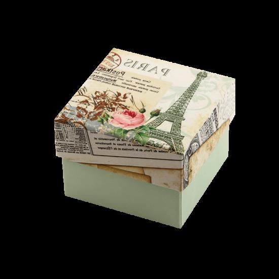 Футляр / упаковка ювелирных изделий романтическая PARIS FK-058