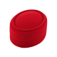 Футляр / упаковка ювелирных изделий бархат овал красная FK-095