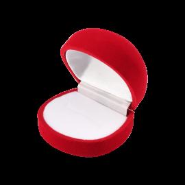 Футляр / упаковка ювелирных изделий бархат красная