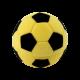 Футляр / упаковка ювелирных изделий детская Футбольный Мяч желтый FK-107