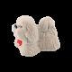 Футляр / упаковка ювелирных изделий детская Собачка белая FK-108