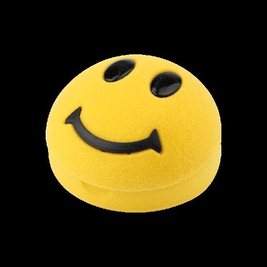 Футляр / упаковка ювелирных изделий детская Смайлик желтый FK-112