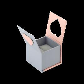 Футляр / упаковка ювелирных изделий романтическая вырезанное Сердце с магнитом