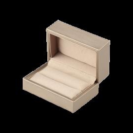 Футляр / упаковка ювелирных изделий премиум беж