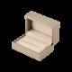 Футляр / упаковка ювелирных изделий премиум беж FK-129