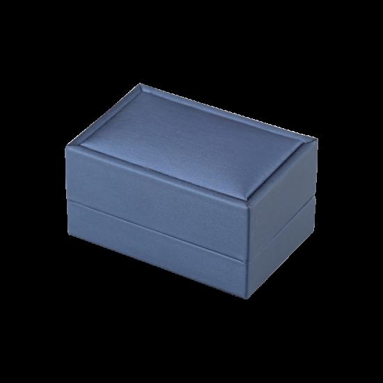 Футляр / упаковка ювелирных изделий премиум синяя FK-132