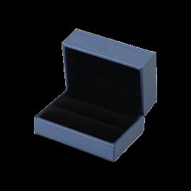 Футляр / упаковка ювелирных изделий премиум синяя