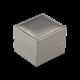 Футляр / упаковка ювелирных изделий премиум квадрат серая FK-134