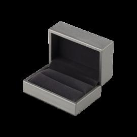 Футляр / упаковка ювелирных изделий премиум серая