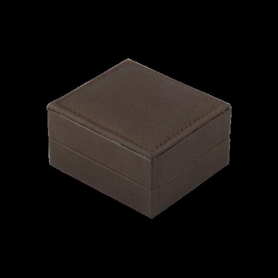 Футляр / упаковка ювелирных изделий премиум коричневая FK-140