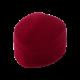 Футляр / упаковка ювелирных изделий бархат сердечко бордовая FK-149