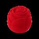 Футляр / упаковка ювелирных изделий бархат Роза красная FK-160