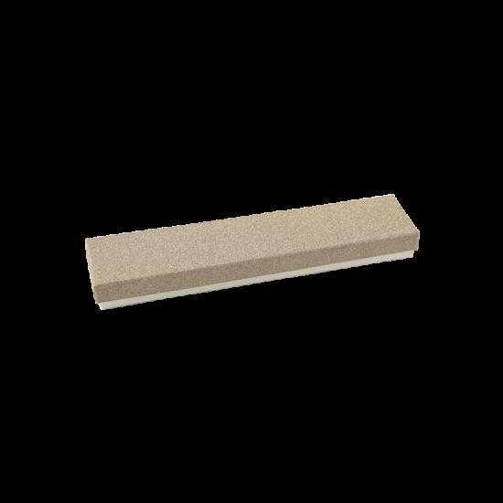 Футляр / упаковка ювелирных изделий длинная кремовая с злотом FK-195