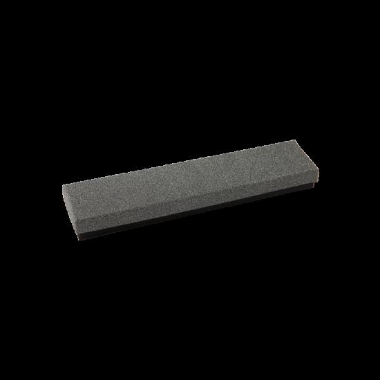 Футляр / упаковка ювелирных изделий длинная черная с темно-серым FK-196