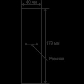 Футляр / упаковка ювелирных изделий кремовая с кремовым бантом для ложки