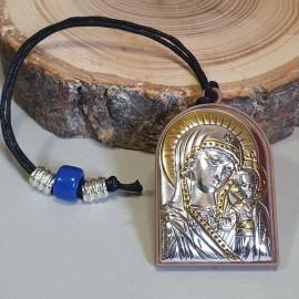 Икона Богородица Казанская на шнурке