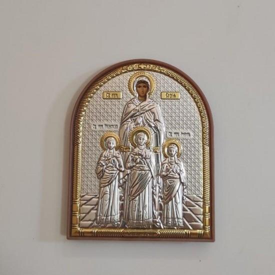 Вера, Надежда, Любовь и их мать София 124PAG