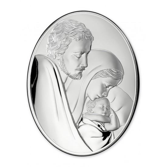 Икона Святое Семейство овал 81242