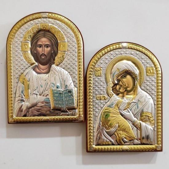 Венчальная пара Спаситель и Богородица 84000_84080
