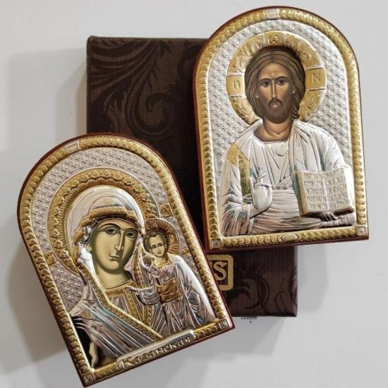 Венчальная пара Спаситель и Богородица 84000_84120