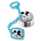 Детский набор Микки Маус мальчик с держателем для соски и коробочкой D-318-C