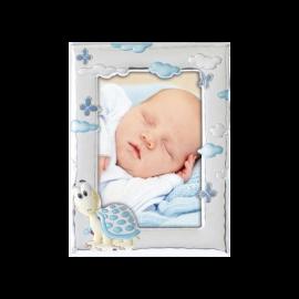 Детский набор Мария с младенцем и рамочкой Черепашка для мальчика
