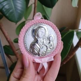 Дитяча ікона Марія з Немовлям для дівчинки