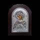 Богородиця Семистрільна срібна ікона MA/E1114