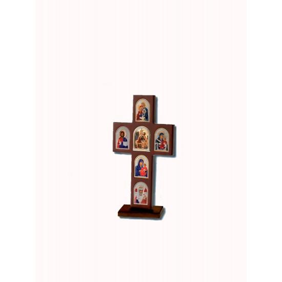 Крест с иконами, высота 34 cм MA/E1300X-C