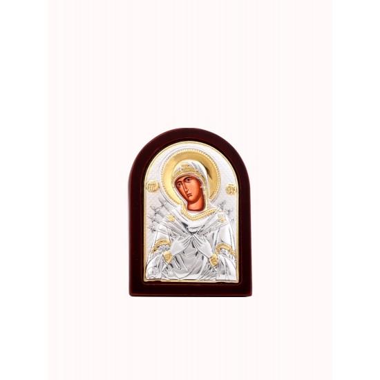 Богородица Семистрельная, с магнитом MB/E1114OX