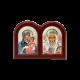 Диптих со Святым Николаем и Богородицей Иерусалимской MB/E1308X-C