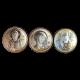 Икона тройная Спаситель Богородица Казанская Николай Чудотворец МВ/Е1317-Х