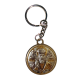 Икона двойная Святой Николай и Спаситель на металлическом брелке MB/E1321-18X