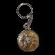 Икона двойная Богородица Казанская и Святой Николай на металлическом брелке MB/E1321-20X