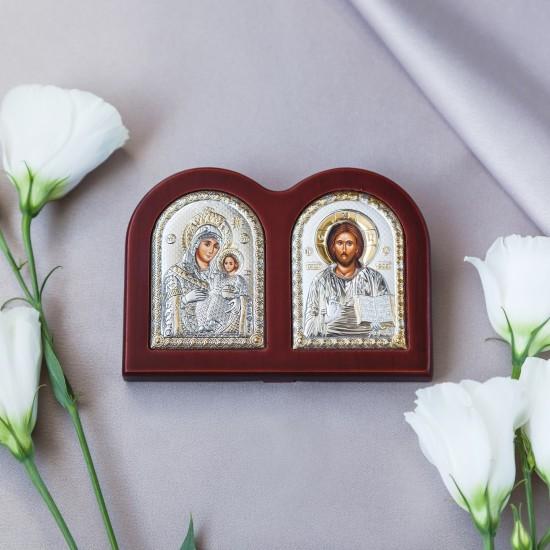 Диптих с Богородица Иерусалимска и Спаситель MA/E1309X