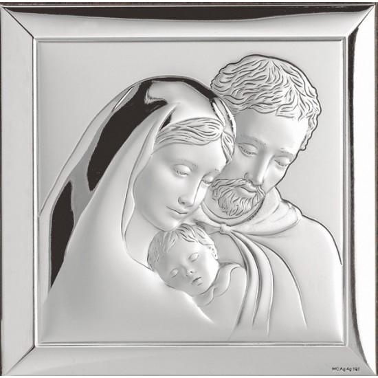 Икона Святое Семейство квадрат 739