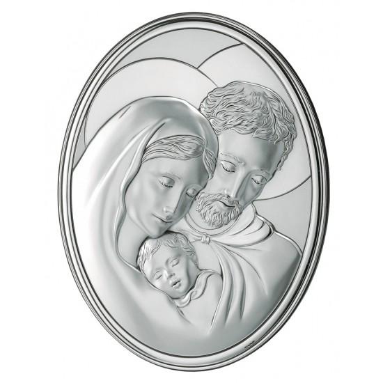 Икона Святое Семейство овал 786