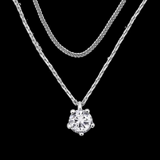 Колье серебряное ВС-165р