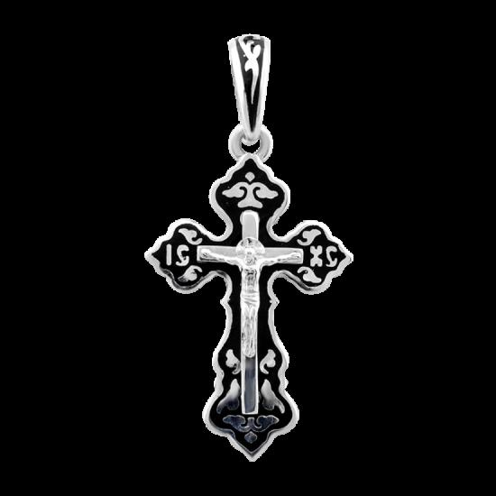 Крестик серебряный ВС-051етр