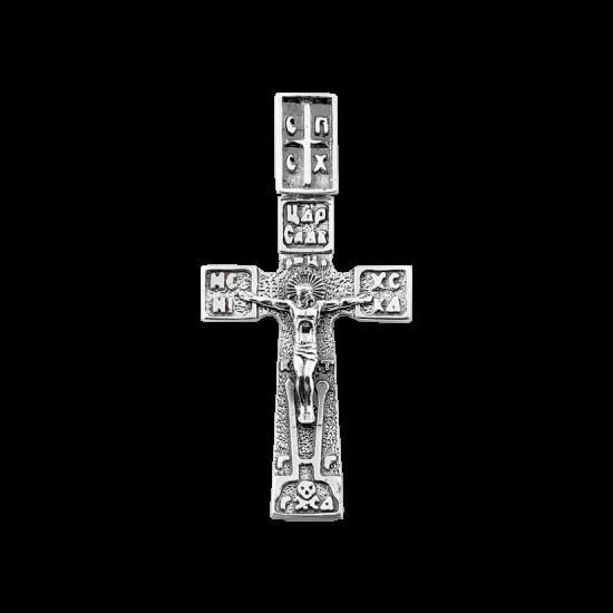 Крестик серебряный Г-50092ч