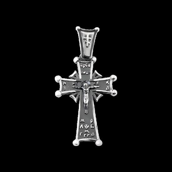 Крестик серебряный Г-50093ч